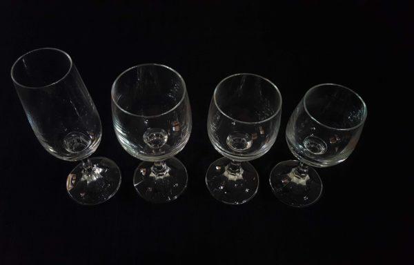 Bicchieri in cristallo mod. Britannia