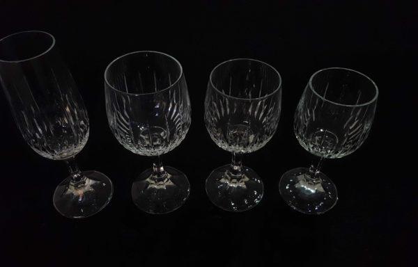 Bicchieri in cristallo mod. Buckingham