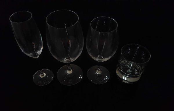 Bicchieri in cristallo mod. Riedel