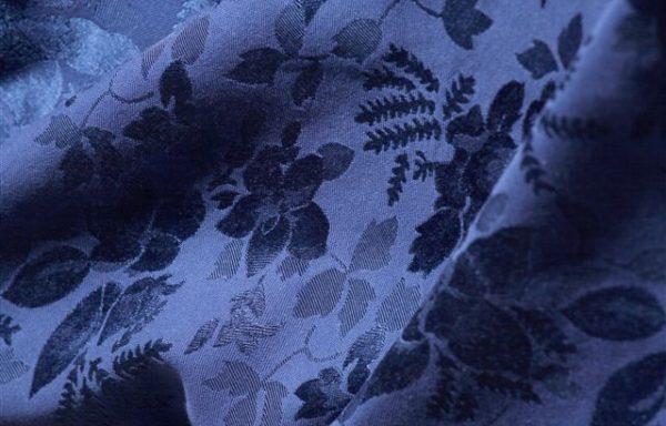 Tovaglia giallo/blu damascato